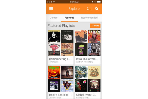 Google Play Music for iOS updated with features to match Android version