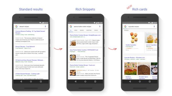 Google uudistaa mobiilihakua kortein
