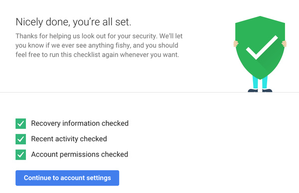 Google offering 2GB free Drive storage if you take a security health checkup