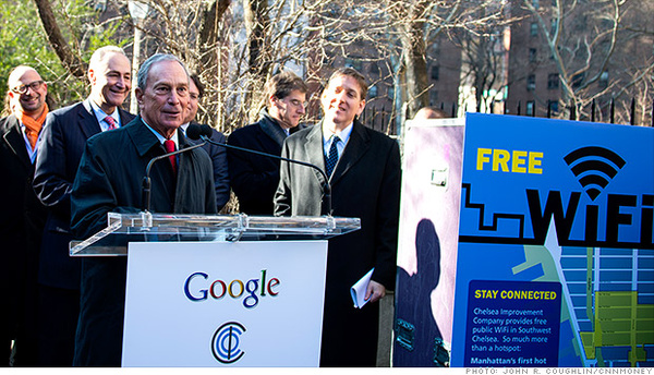 Google to offer free Wi-Fi to NYC neighborhood