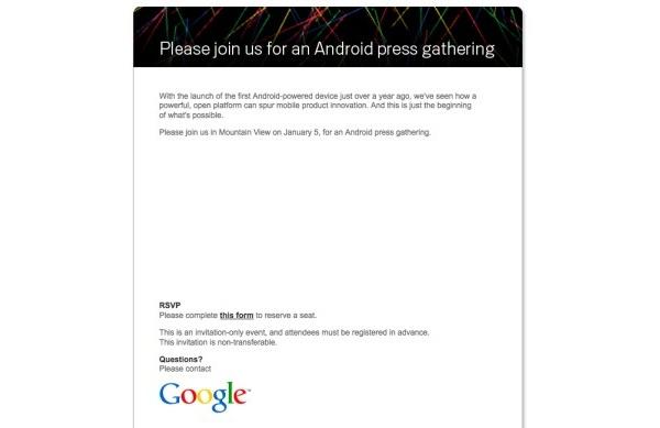 Googlen oma Nexus One -puhelin julkistetaan viikon päästä