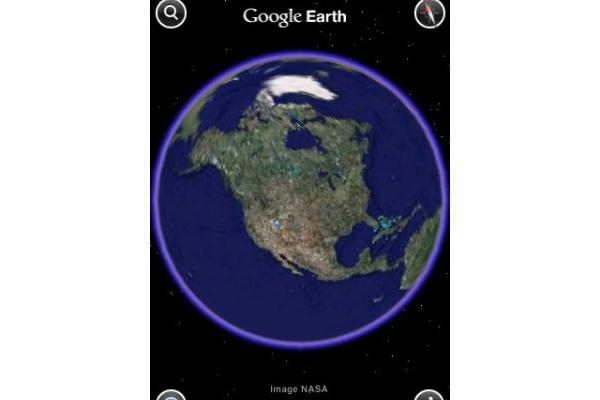 Google Earth nyt saatavilla iPhoneen