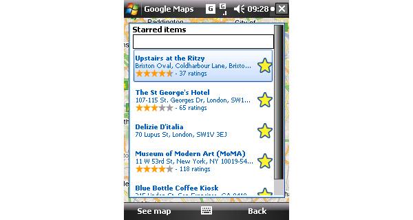 Google Maps päivittyi Symbianille ja Windows Mobilelle