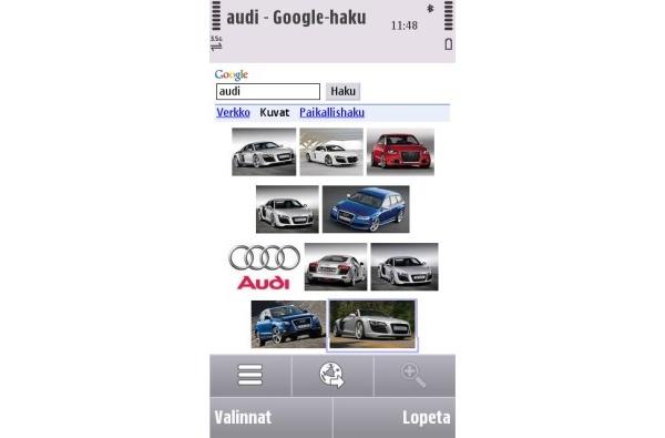 Googlelta päivitykset mobiiliin kuvahakuun ja S60-YouTubeen