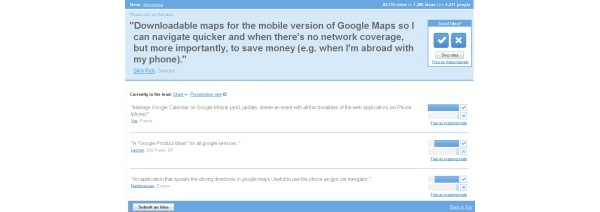 Google pyytää ideoita kehittääkseen mobiilipalvelujaan