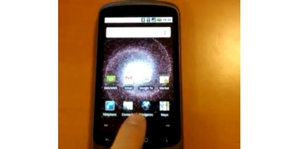 Googlen Nexus One jo Engadgetin testattavana