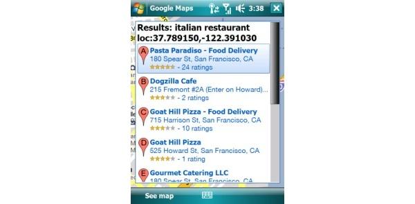 Google päivitti Windows Mobile -sovellustaan