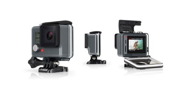 GoPro esitteli uuden lähtötason mallin kosketusnäytöllä