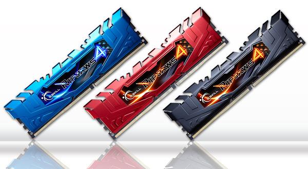 Uudet DDR4 Ripjaws 4 -muistit ennakkotilattavissa