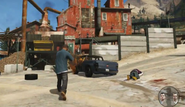 Rockstar Games: GTA V gameplay trailer came from PS3 video
