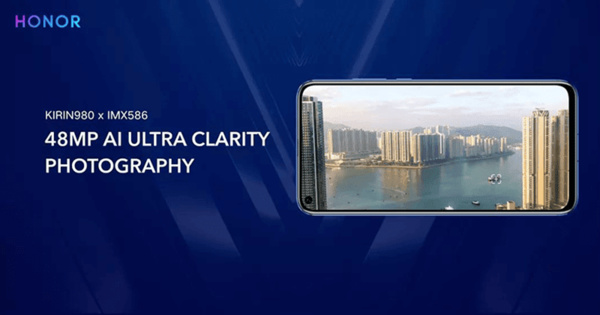 Reikänäyttöisten puhelimien uusi trendi – Huawei paljasti Honor View 20:n