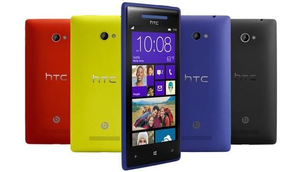 HTC:n Windows Phone 8X sai ensimmäisen päivityksen - korjaa WLAN-ongelman