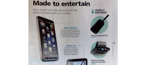HTC:n uusi huippupuhelin on HTC HD2