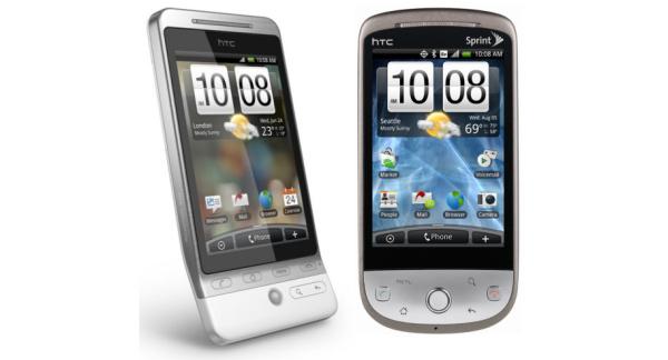 Sprintin versio HTC Herosta tulee ilman leukaa
