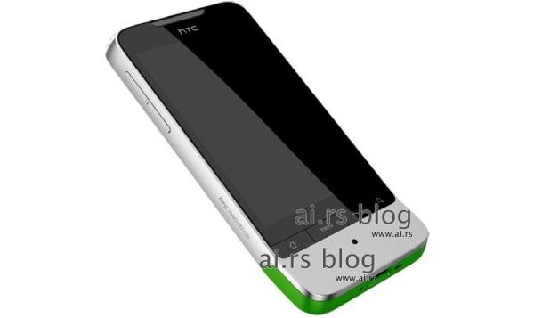 HTC Legendistä vuoti parempi kuva - parannettu Hero