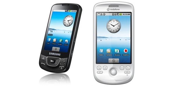 Samsungin ja HTC:n Google-puhelimet videolla