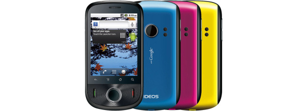 Huawein edullinen Android-puhelin on Ideos
