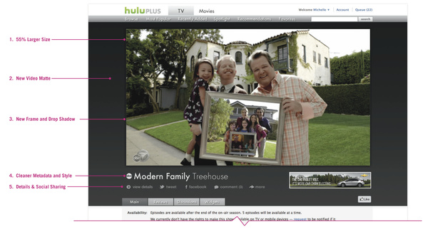 Hulu.com now has a larger video player