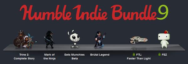 Betal hvad du vil for Humble Indie Bundle 9, inkl. Trine 2 og FEZ