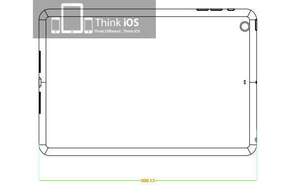 iPad mini yhtä ohut kuin iPod touch?