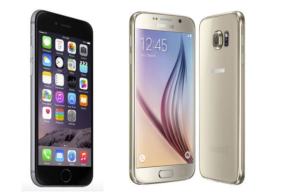 Kovin kärki: Vertailussa iPhone 6 ja Galaxy S6