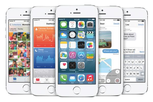 Apple julkisti iOS 8:n