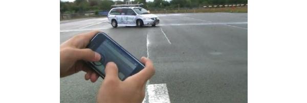 Videolla: iPhonella kauko-ohjataan oikeaa autoa