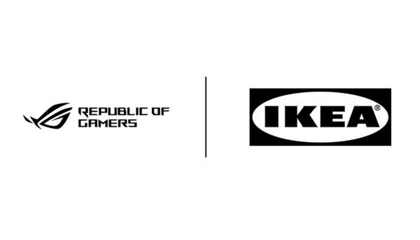Ikea ja Asus ROG alkavat tehdä yhteistyössä huonekaluja pelaajille