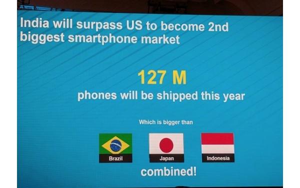 Yhdysvallat tippui älypuhelinmarkkinoiden kärkipaikalta jo yli viisi vuotta sitten, nyt menee kakkossijakin