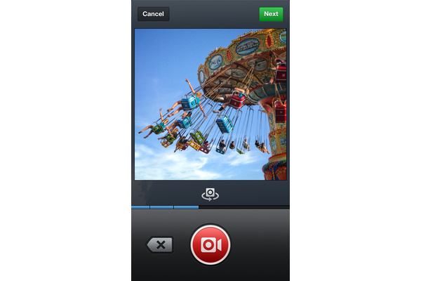 Instagram updated to add Video
