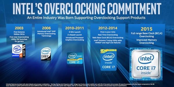 Intel lupaa kerroinlukottomia suorittimia peliläppäreihin