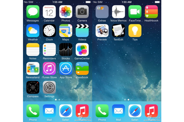 Kuvavuoto: Näkyykö tässä iOS 8:n uudet sovellukset?
