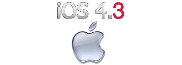 Apple julkaisi iOS 4.3.4:n