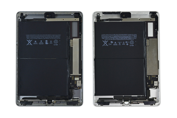 Applen uusi iPad purettiin: Sisuksissa vuosia vanhaa tekniikkaa