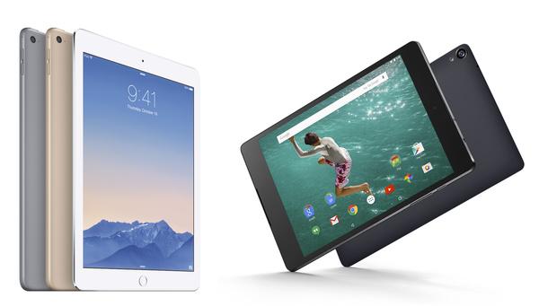 Syksyn kiinnostavimmat tabletit: Vertailussa iPad Air 2 ja Nexus 9