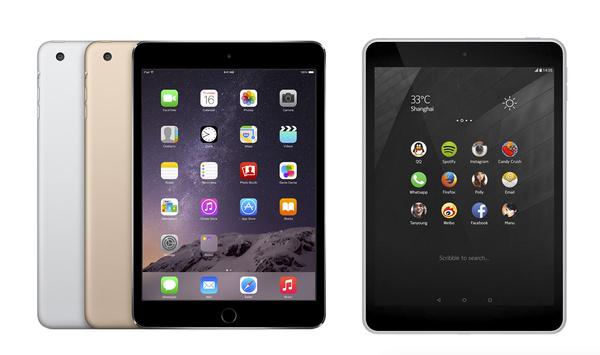 Esittelikö Nokia juuri iPad mini -kloonin? Vertailussa Nokia N1 ja iPad mini 3