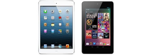 iPad Mini vs. Nexus 7: ominaisuudet vertailussa
