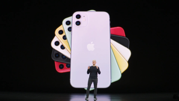 Apple unveiled the new iPhone 11