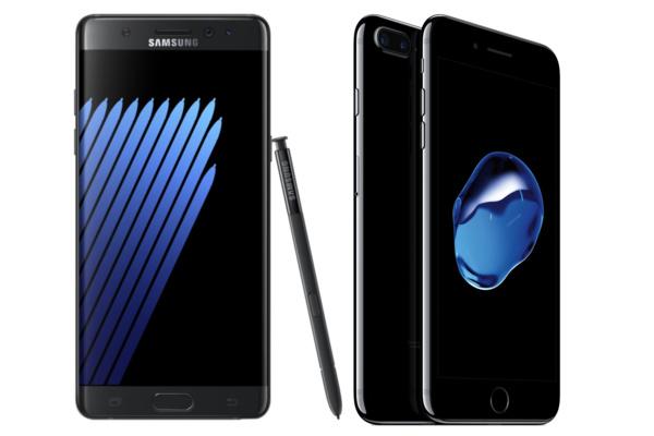 Kumpi kannattaa ostaa, iPhone 7 Plus vai Galaxy Note 7?