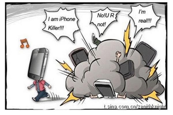 Näiden puhelimien piti tappaa iPhone