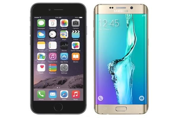 Vertailussa iPhone 6 Plus ja uusi Samsung Galaxy S6 edge+