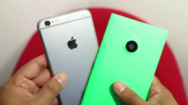 WPCentral: Kameravertailussa iPhone 6 Plus vs Lumia 1520