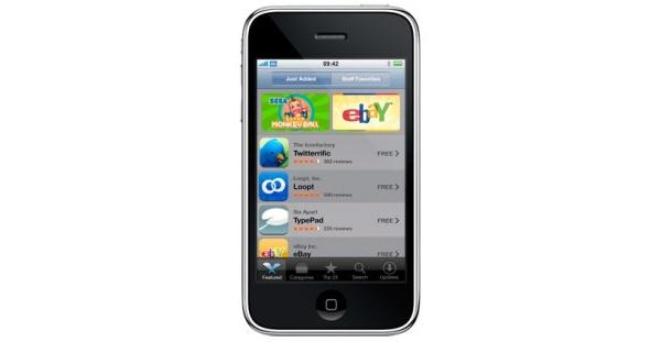 Applen App Store: 1,5 miljardia latausta vuodessa