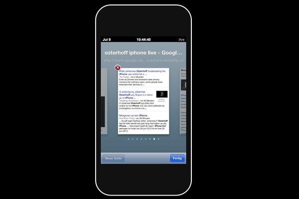 Taiteilijan kokeilu: Vuosi iPhone-käyttöä kaikkien nähtäville