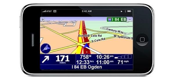 TomTomilta navigointisofta iPhonelle
