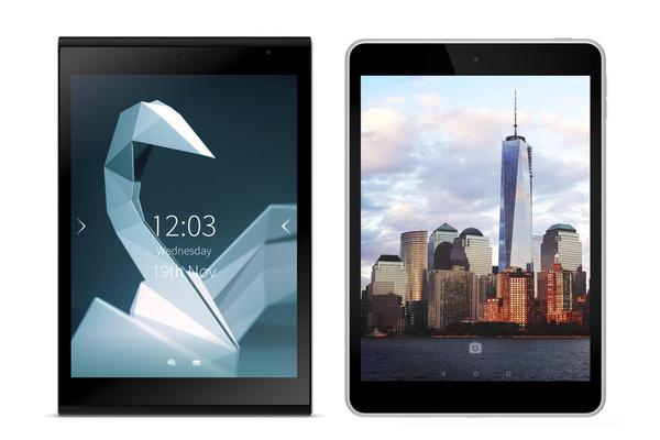 Suomi-tabletit vertailussa: Nokia N1 ja Jolla Tablet