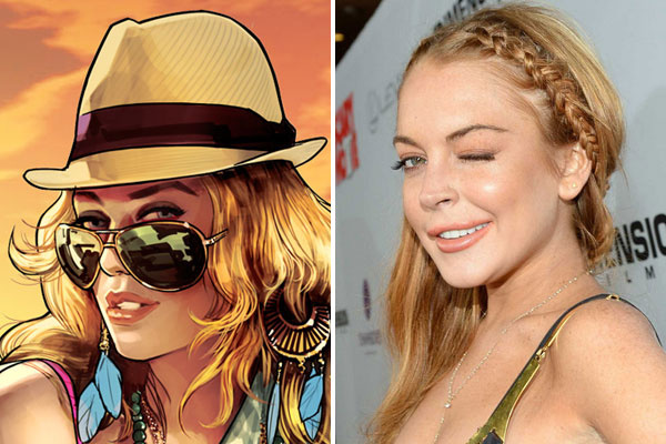 Lindsay Lohan: GTA V character is clearly based on me, and I'm suing