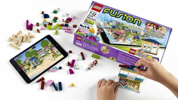 Lego Fusion let's you build your toy in real life and play with them in virtual worlds