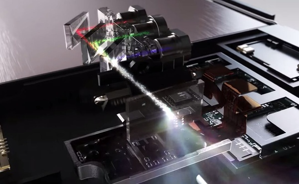 Lenovo tuo erittäin kompaktin laserprojektorin puhelimiin