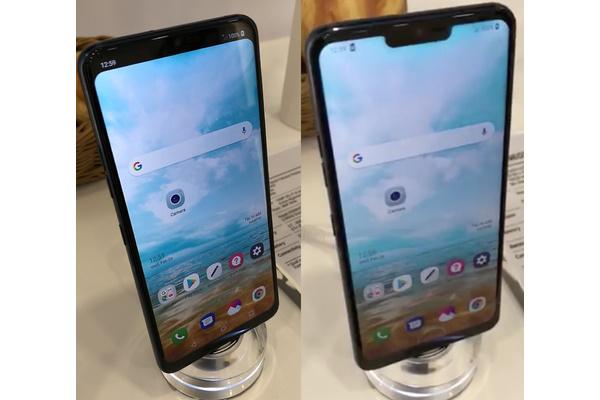LG kopioi iPhone X:n näytön loven, mutta sen saa myös katoamaan